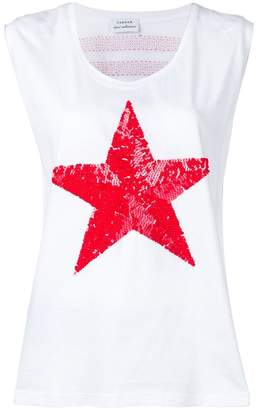 P.A.R.O.S.H. sequinned star tank top