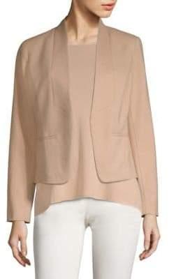 Eileen Fisher Draped Open Front Jacket