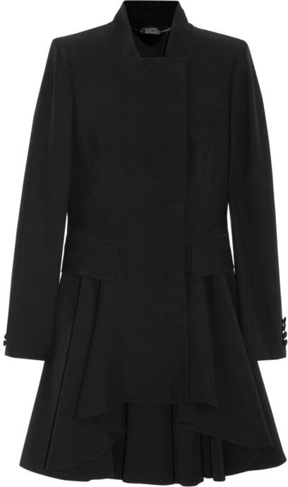 Alexander McQueen Crepe frock coat