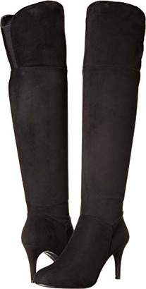 67ab949f749 Chinese Laundry Black Over The Knee Women s Boots - ShopStyle