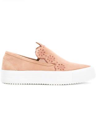 See by Chloe embellished slip-on sneakers