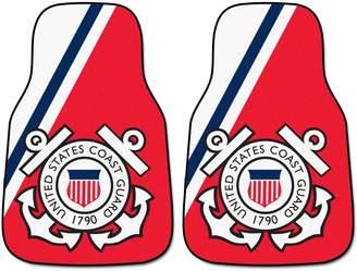 Fanmats FANMATS 2-pk. US Coast Guard Carpeted Car Floor Mats