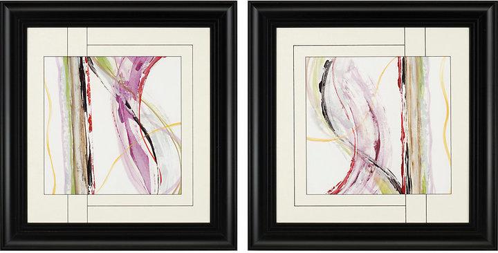 Honeysuckle Rose Set of 2 Artwork