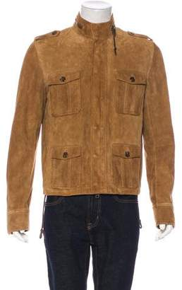 Christian Dior Suede Field Jacket w/ Tags
