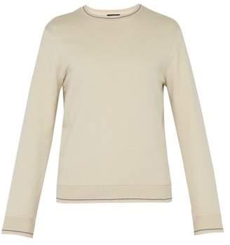 A.P.C. Break Cotton Sweatshirt - Mens - Cream