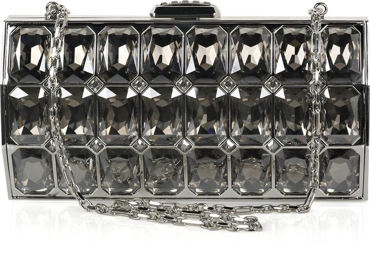 Judith Leiber Radiant Cut crystal-embellished clutch