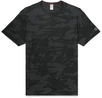 Todd Snyder + Champion Camouflage-Print Cotton-Jersey T-Shirt