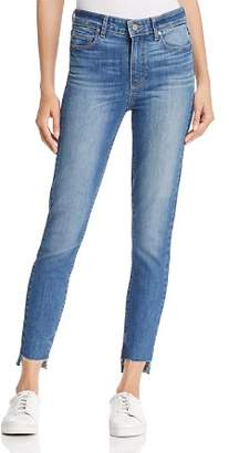 Paige Hoxton Skinny Step-Hem Jeans in Rina - 100% Exclusive