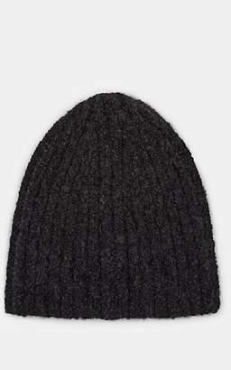 Barneys New York Men's Bouclé Hat - Charcoal