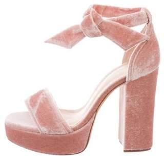 Alexandre Birman Celine Platform Sandals w/ Tags