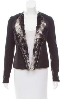 Ella Moss Open Front Long Sleeve Jacket