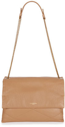 Lanvin Sugar Medium Chain Shoulder Bag, Nude $2,185 thestylecure.com