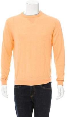 Zegna Sport Cashmere-Blend Crew Neck Sweater