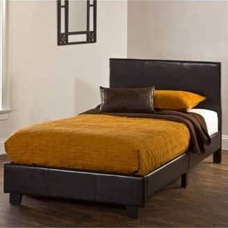 Hillsdale Furniture Springfield Twin Bed-in-a-Box Set, Brown