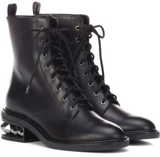 Nicholas Kirkwood Suzi leather ankle boots