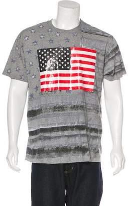 Givenchy Stars & Flag T-Shirt