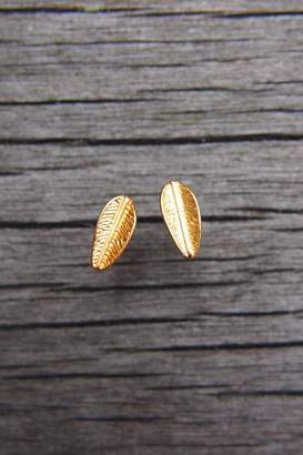 Wild Lilies Jewelry Feather Stud Earrings