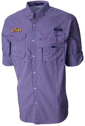 Columbia Men's Lsu Tigers Super Bonehead Long Sleeve Shirt