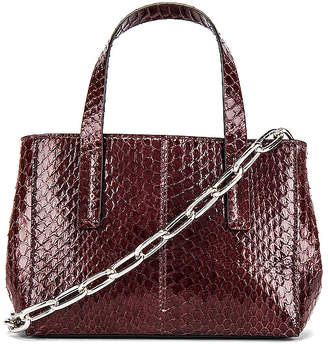Tibi Le Client Chain Ayers Water Snake Mini Bag