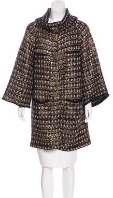 Chanel Paris-Byzance Wool & Cashmere Coat