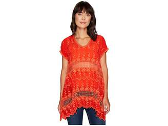 Johnny Was Lilano Tunic Women's Blouse
