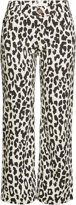 See by Chloe Animal Print Jeans