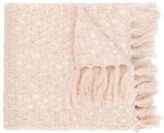 Chloé Kids fringed knit scarf