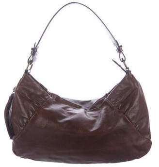 CNC Costume National Textured Leather Hobo