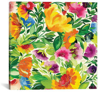 """iCanvas July Bouquet Ii"""" By Kim Parker Gallery-Wrapped Canvas Print - 12"""" x 12"""" x 0.75"""""""