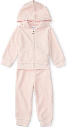 Ralph Lauren Baby Girls' Hoodie & Jogger Pants Set $59.50 thestylecure.com