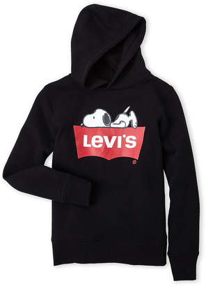 Levi's Boys 8-20) Snoopy Logo Hoodie