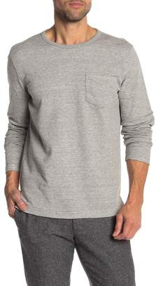 Brooks Brothers Crew Neck Front Pocket Pullover