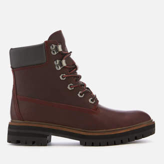 dfbf5d3c312 Timberland Women s London Square 6 Inch Leather Lace Up Boots