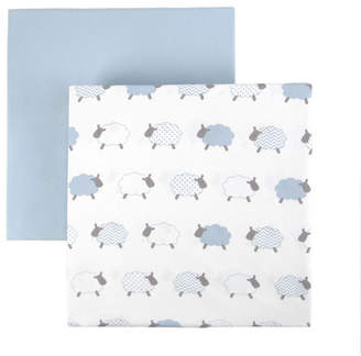 Tadpoles 2 Piece Microfiber Crib Fitted Sheet