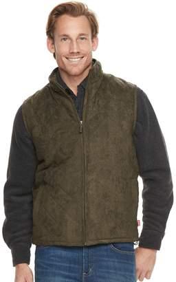 Coleman Men's Faux-Suede Vest