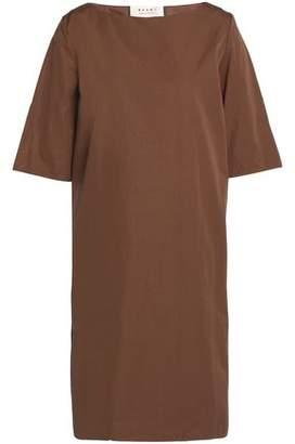 Marni Pleated Cotton-Poplin Dress