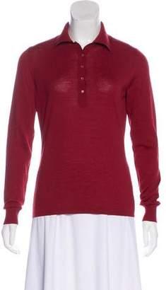 Alaia Wool Long Sleeve Top