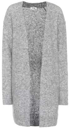 Acne Studios Raya wool and mohair-blend cardigan