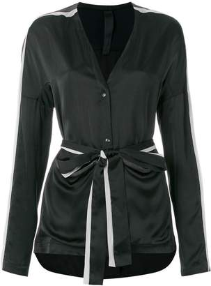 Ilaria Nistri long-sleeve belted top