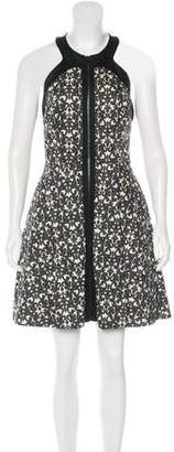Robert Rodriguez Sleeveless Printed Dress