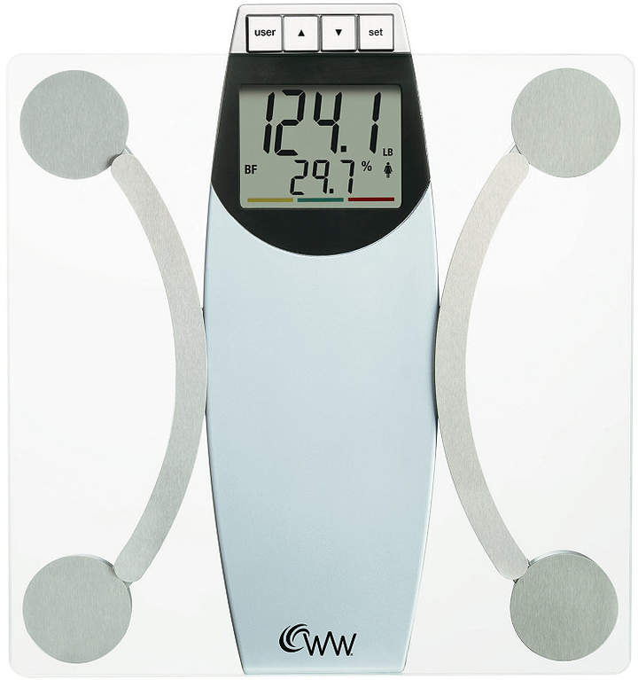 Weight Watchers WW67T Glass Scale, Body Analysis Bedding