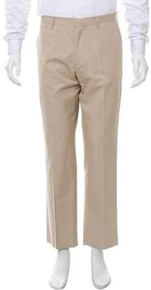 Etro Cropped Flat Front Pants