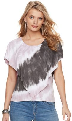 Women's Juicy Couture Tie-Dye Popover Tee $40 thestylecure.com