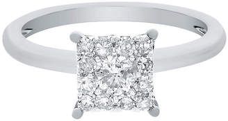 MODERN BRIDE Brilliant Dream 3/4 CT. T.W. Princess-Style Diamond Engagement Ring