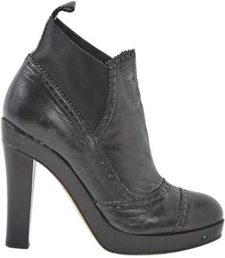 DKNY Leather ankle boots