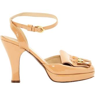 Burberry Patent leather sandals