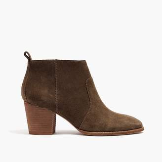 Madewell The Brenner Boot in Suede