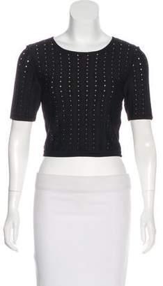 Alice + Olivia Crop Top Skirt Set