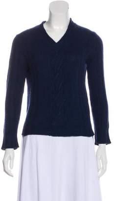 TSE Braid-Accented Sweater