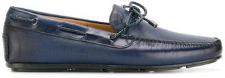 Santoni classic lace-up loafers